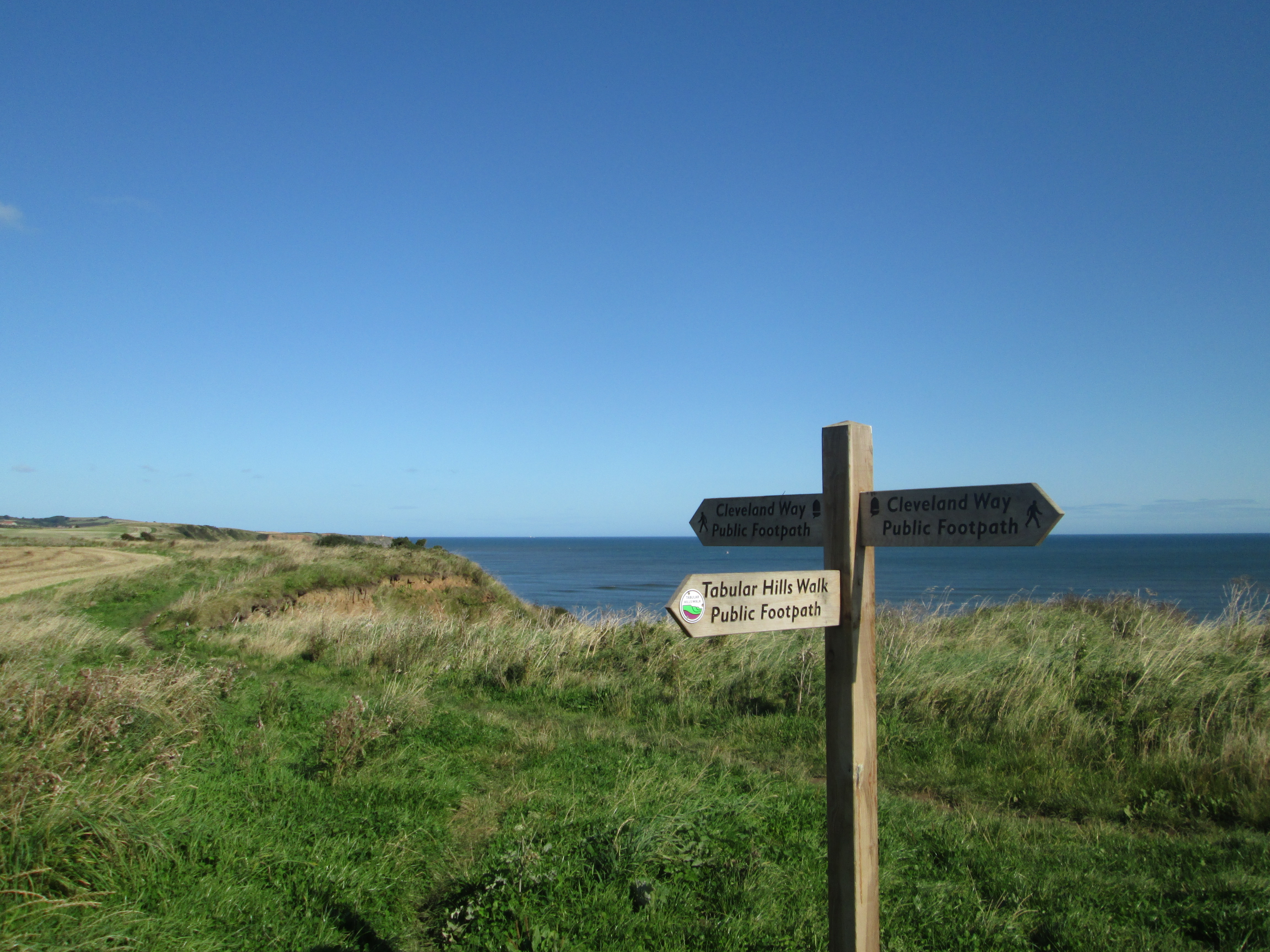 Tabular Hills Walk meets the Cleveland Way