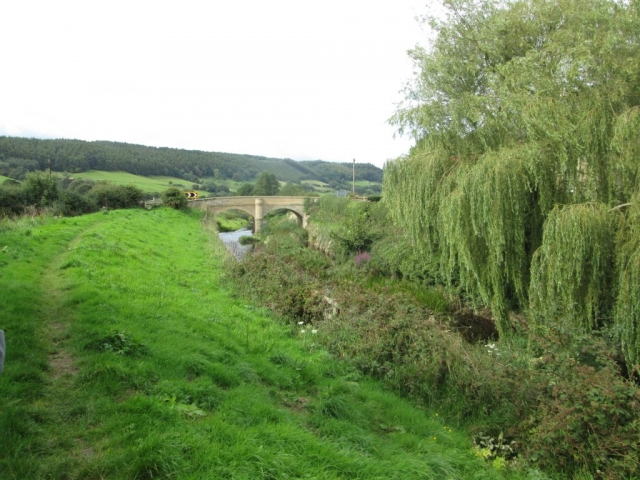 Alongside North Back Drain
