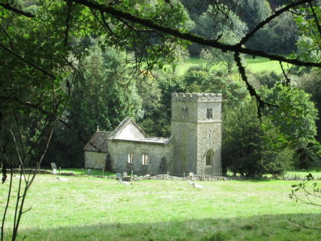 Levisham's derelict church of St Mary the Virgin