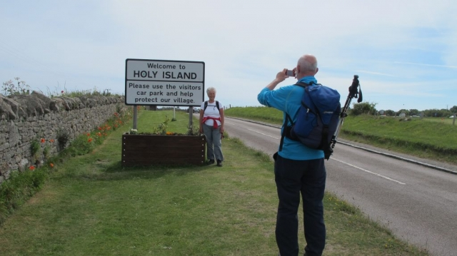 Is this one of the most photographed road signs in England?