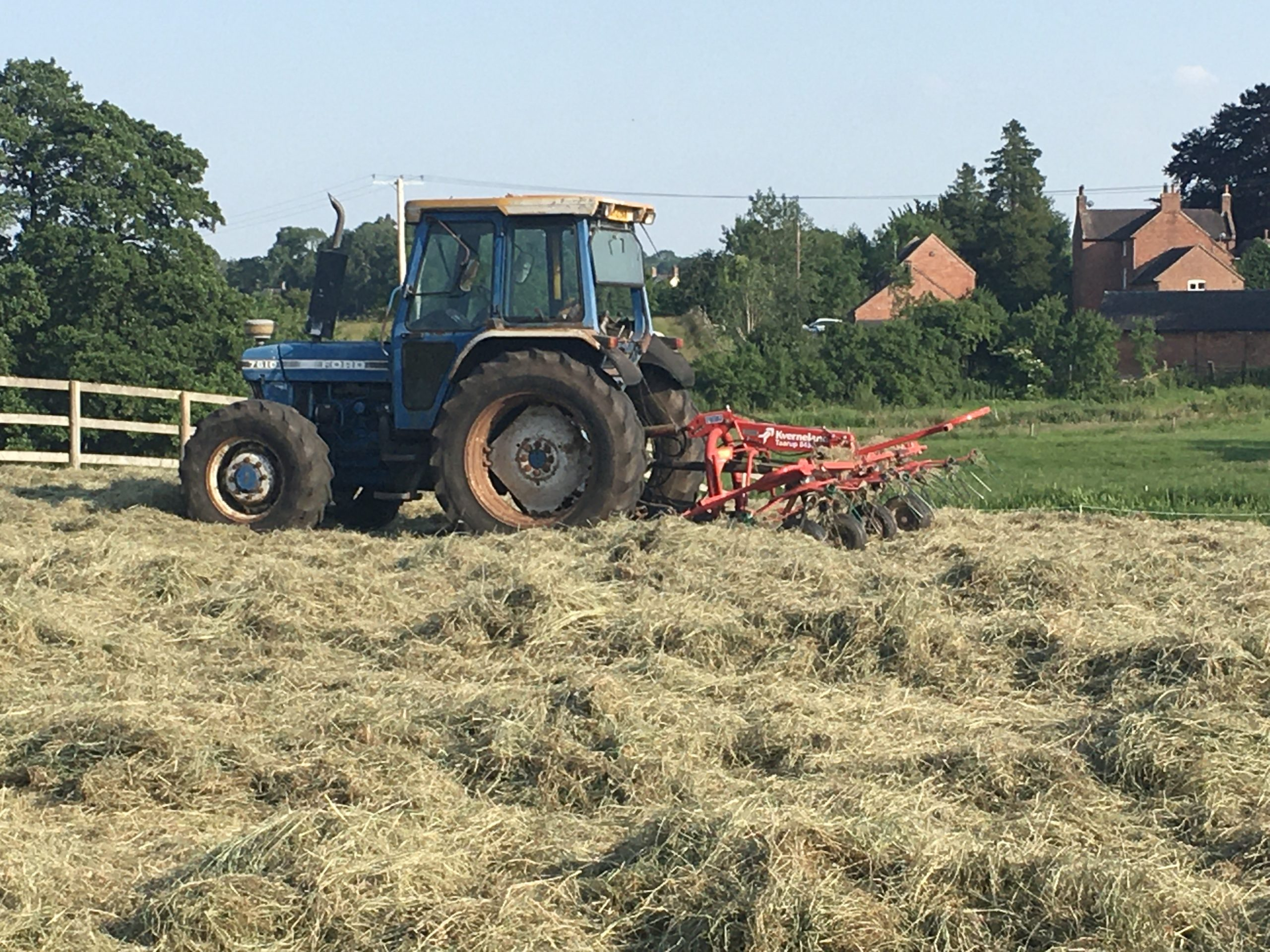 haymaking in staffordshire