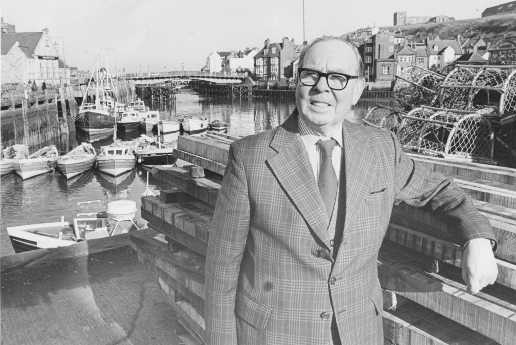 Tom Ashworth retired in 1983 after 46 years as the Whitby Reporter
