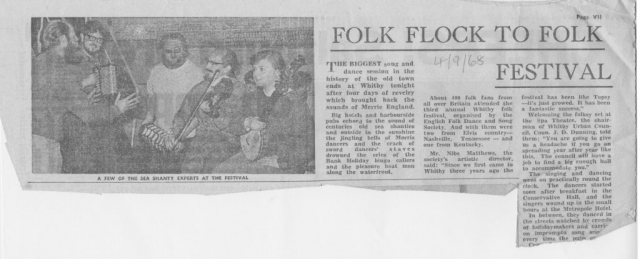 Whitby Folk Festival a great success