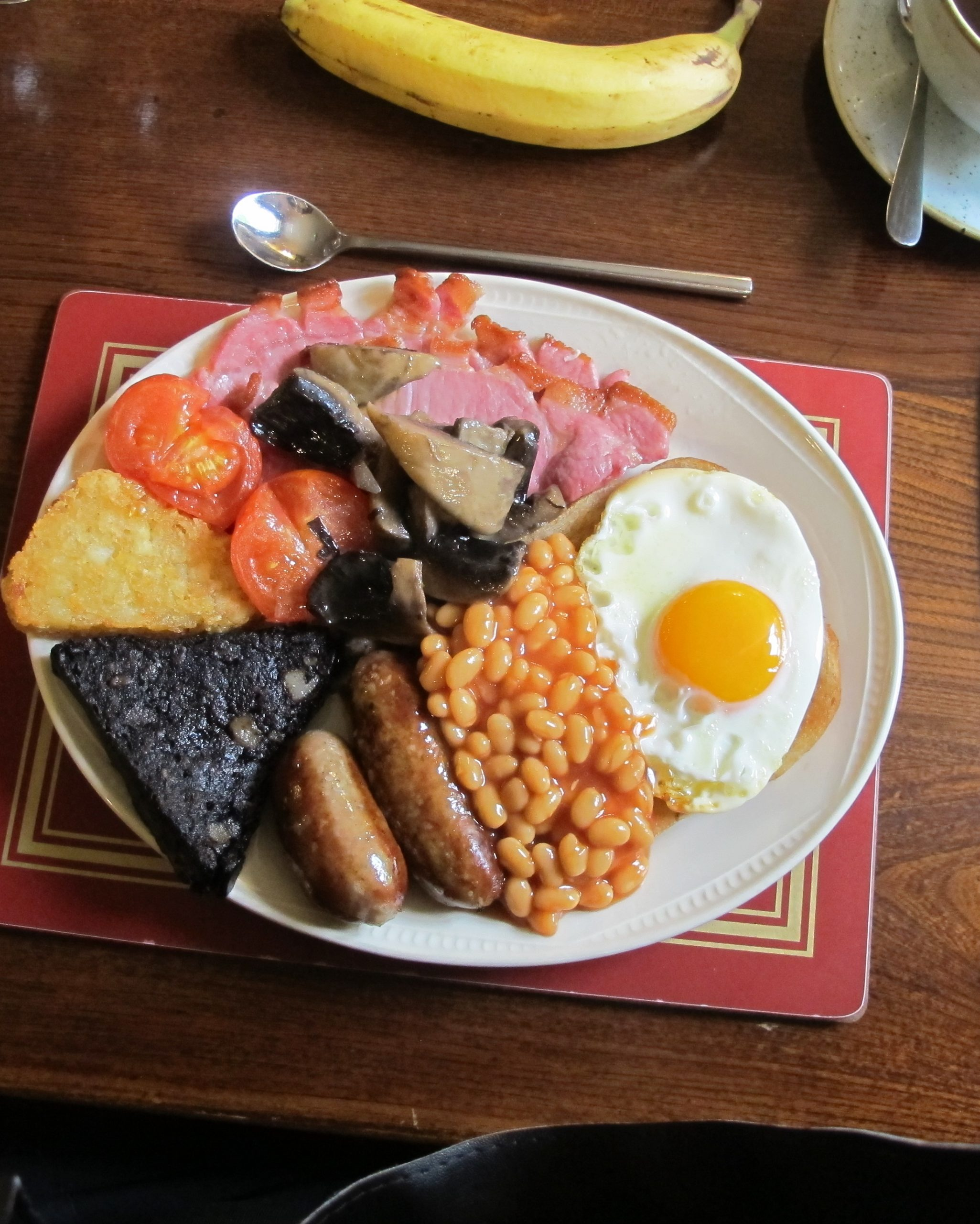 A full English sets you up for the dale